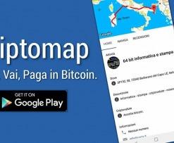 Criptomap negozi bitcoin
